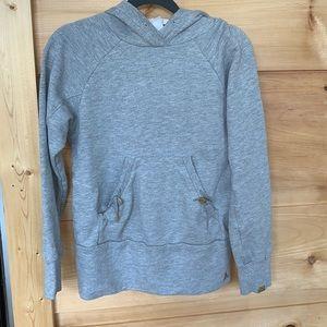 EUC adidas small gray hoodie